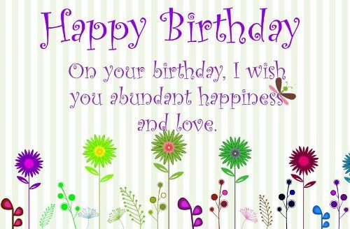 Best Birthday Quotes Short Birthday Messages Happy Bday Pictures