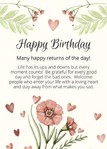 Best Birthday Quotes Wish U Many Many Happy Returns Of The Day