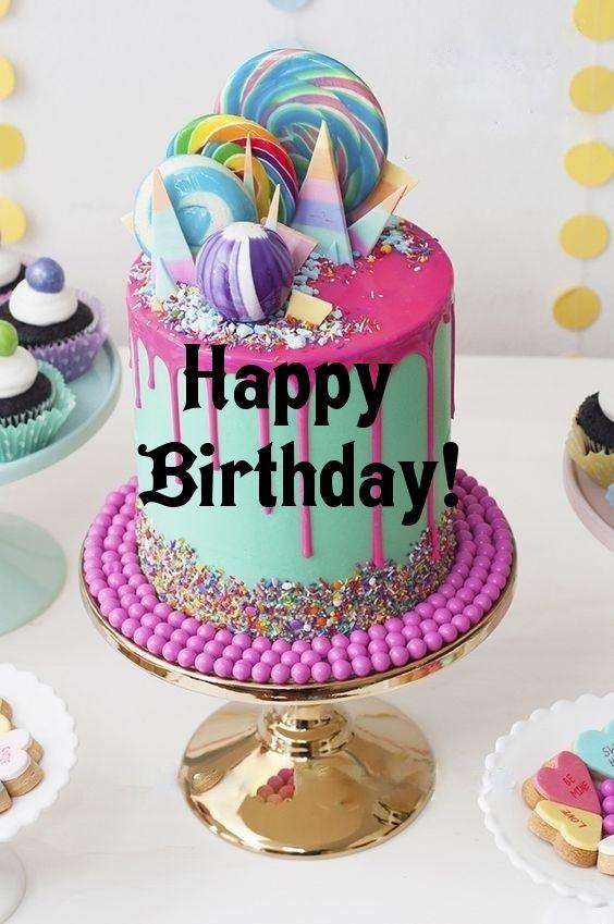 Birthday Quotes Happy Birthday Lollipop Cake Custom By Lechezz