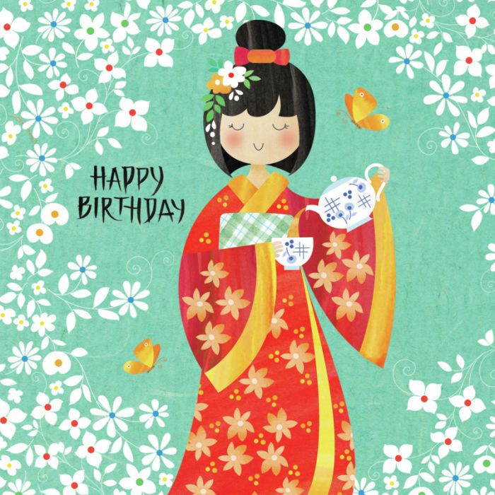 birthday quotes  helen rowe  japanese lady and tea