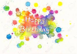 birthday quotes slikovni rezultat za happy birthday watercolor