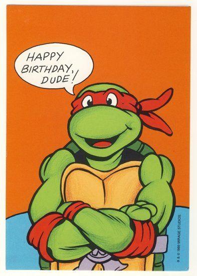 Birthday Quotes This Is A Vintage Teenage Mutant Ninja Turtles