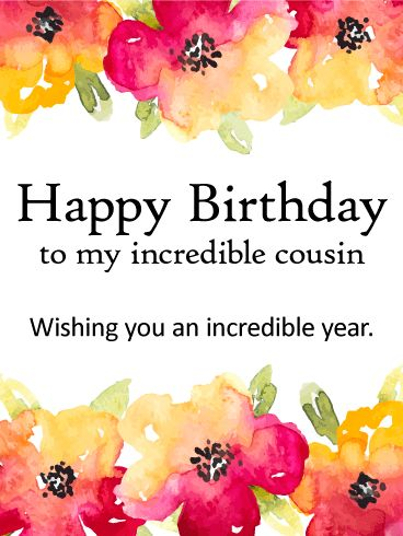 Birthday Quotes Wishing You A Incredible Year Happy Birthday Card