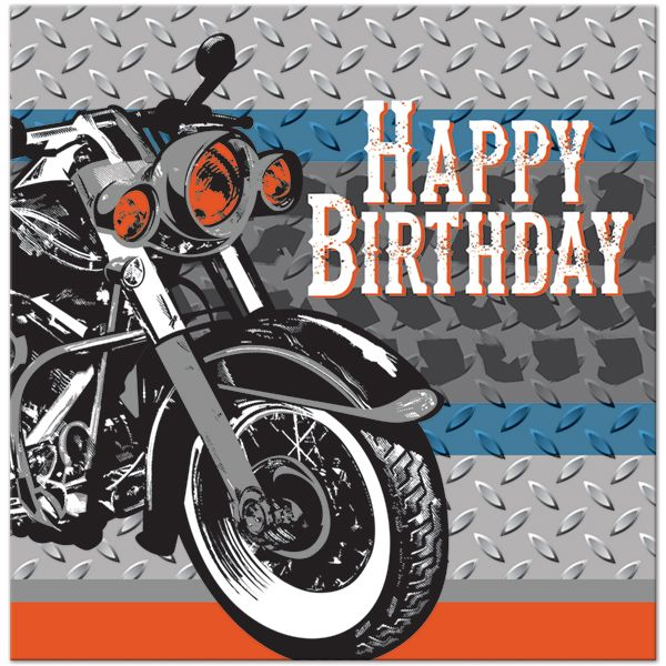 Happy Birthday Quotes kids motorcycle themed birthday party