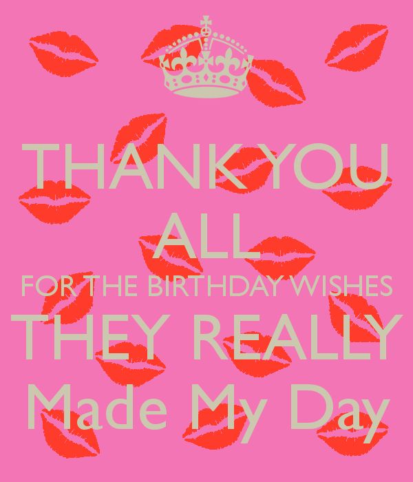 Happy birthday quotes thank you all for the birthday wishes they as m4hsunfo