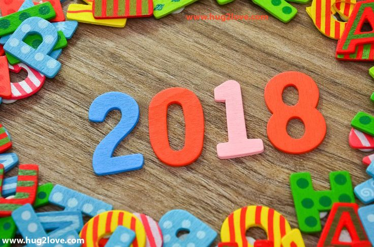 as the quote says description 2018 happy new year wallpaper colorful