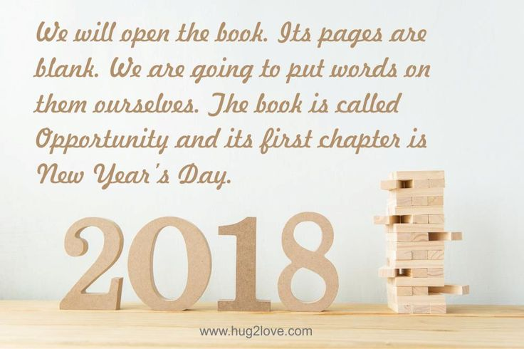Happy New Year 2018 Wishes Quotes : Best New Year Resolution Quotes ...
