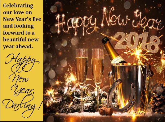Happy New Year 2018 Wishes Quotes : Cute New Year 2018 ...