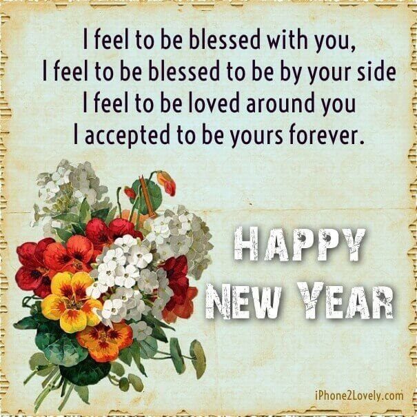 Happy New Year 2018 Wishes Quotes : Cute New Year Love Quote Wishes ...