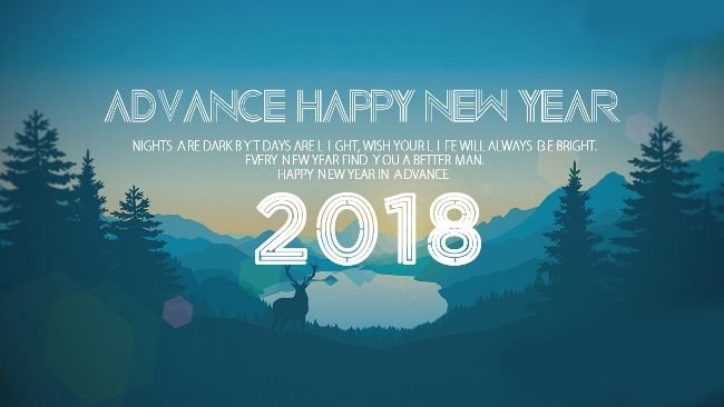Happy New Year 2018 Wishes Quotes Happy New Year 2018 In Advance 1