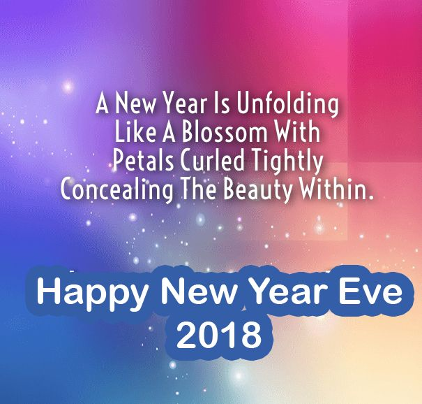 as the quote says description new year 2018 wishes messages