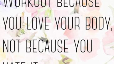 Fitness Quotes : By Far The Best Quote Regarding Fitness. U201cWorkout Because  You Love Your Body, Nou2026