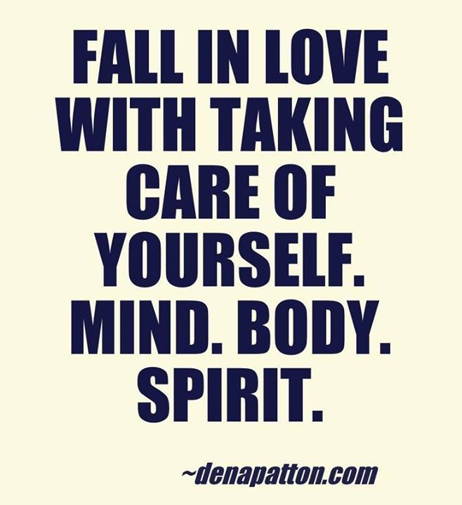 "Fall In Love With Yourself Quotes Custom Health And Fitness Quotes ""Fall In Love With Taking Care Of"