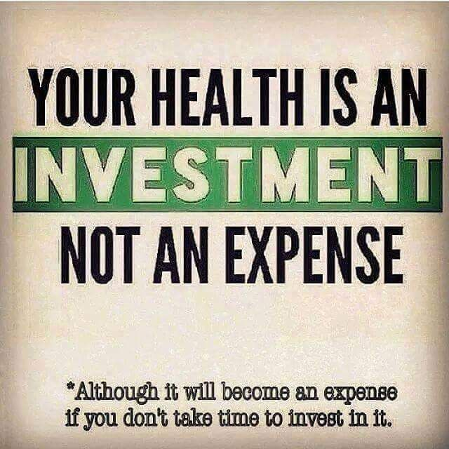 Health and Fitness Quotes : Your health is an investment ...