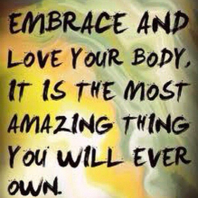 "Love Your Body Quotes Delectable Inspirational Fitness Quotes ""Embrace And Love Your Body It Is"