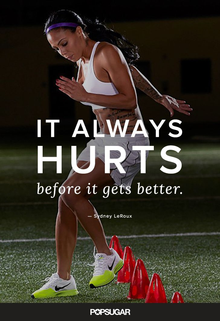 Inspirational Fitness Quotes Us Women S Soccer Star Sydney Leroux Offers Important Advice Every Fit Woman Omg Quotes Your Daily Dose Of Motivation Positivity Quotes Sayings Short Stories All the beautiful women there! inspirational fitness quotes us women