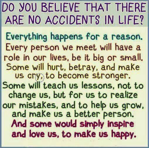 Everything Happens For A Reason Omg Quotes Your Daily Dose