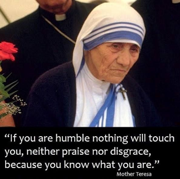 Humility Mother Teresa Quote Omg Quotes Your Daily Dose Of