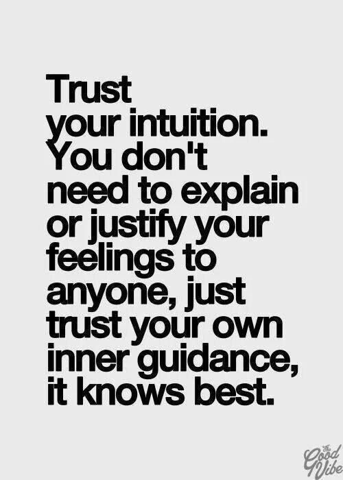 As The Quote Says U2013 Description. Successful People Know That Trusting Your  ...