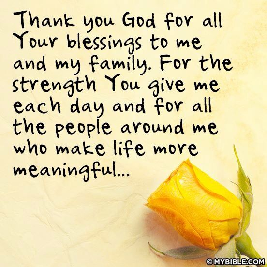 Life Quotes And Words To Live By Thank You God For All Your