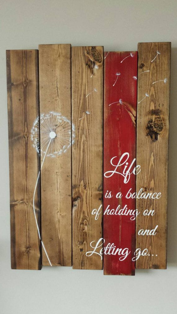 Life Quotes Inspiration Wood Wall Art Life Is A Balance Of