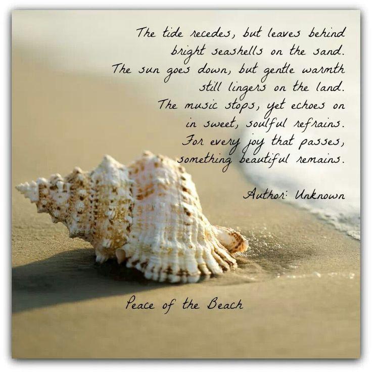Life Quotes Inspiration So Pretty Ocean Poem Something Left
