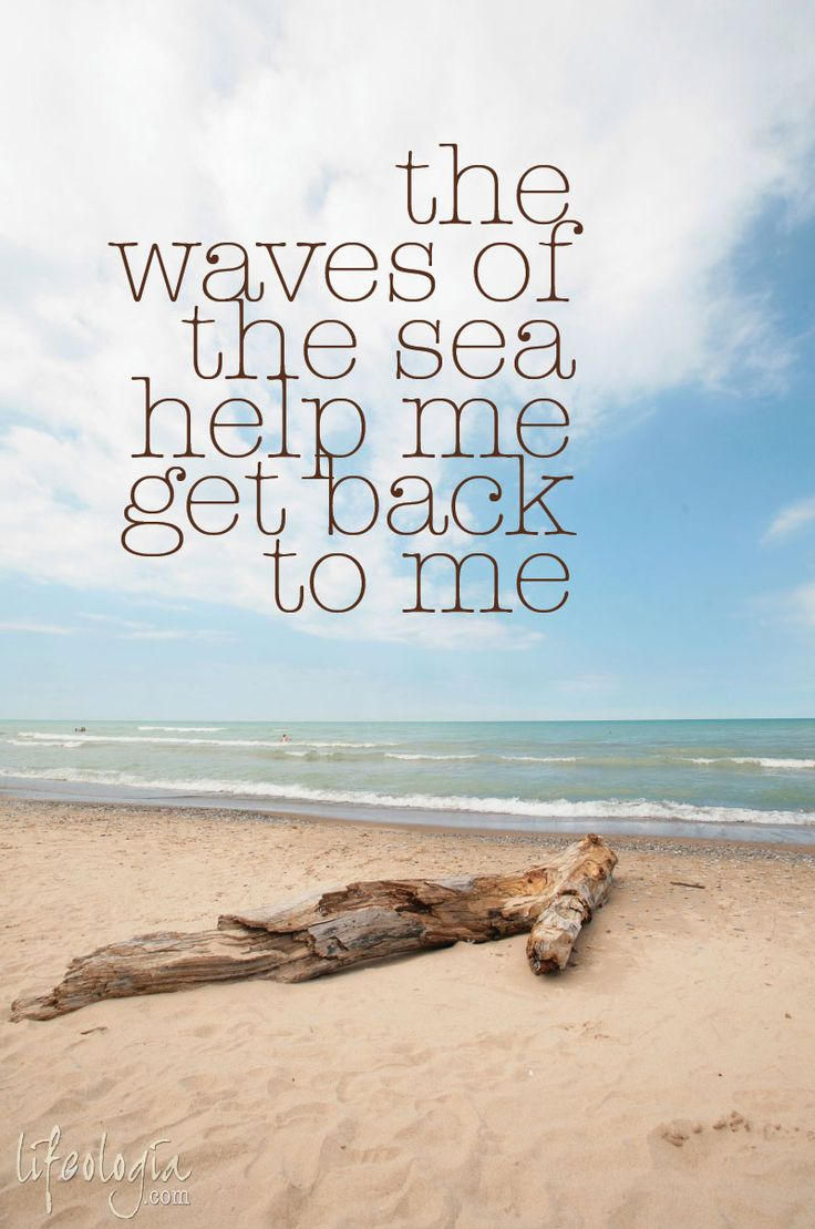 Life Quotes Inspiration The Waves Of The Sea So True Omg