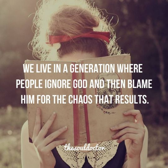 Life Quotes & Inspiration : We live in a generation that