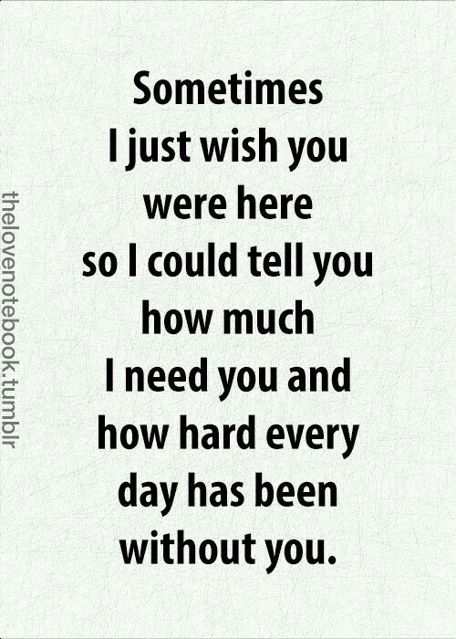 Wish You Were Here Quotes Awesome Quotes About Love For Him  Sometimes I Just Wish You Were Here So