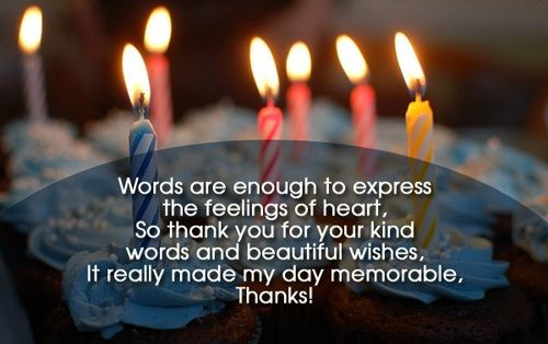 Thank you quotes for birthday wishes on facebook