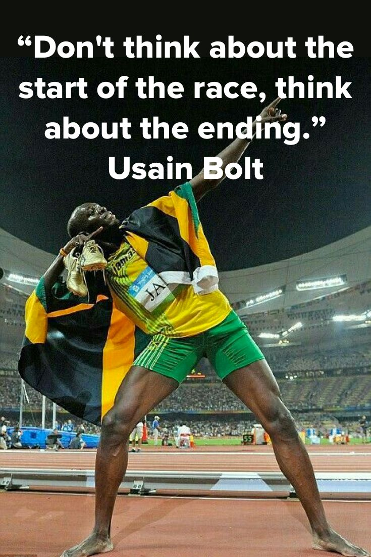 Best Health And Fitness Quotes Dont Think About The Start Of Race Ending