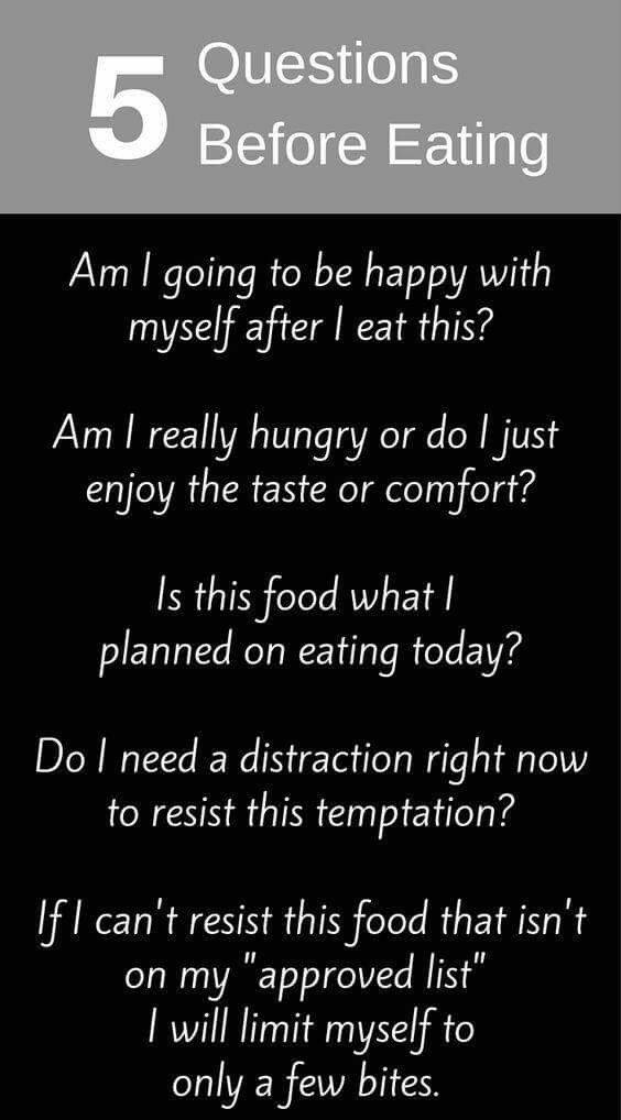 Best Health And Fitness Quotes Questions Before Eating Omg