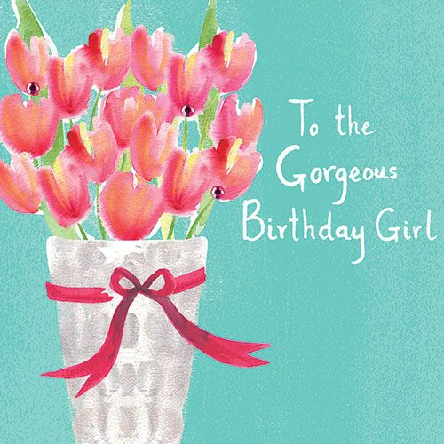 Birthday quotes a lovely birthday card with a pretty tulips design as the quote says description mightylinksfo