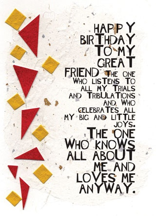 Birthday Quotes Give This Card To Your Best Friend For Their