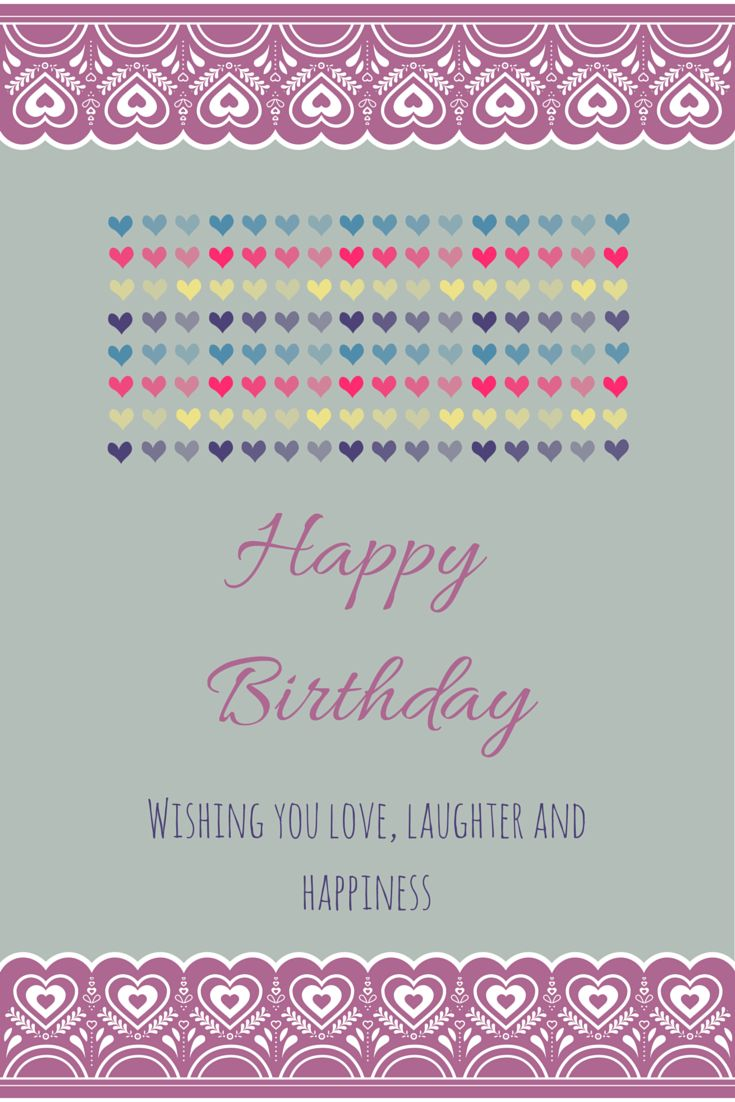 Birthday Quotes Happy Birthday Wishing You Love Laughter And
