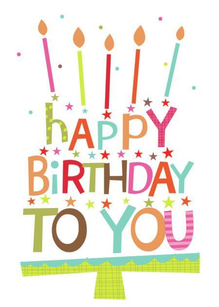 Pretty Happy Birthday Cake Images