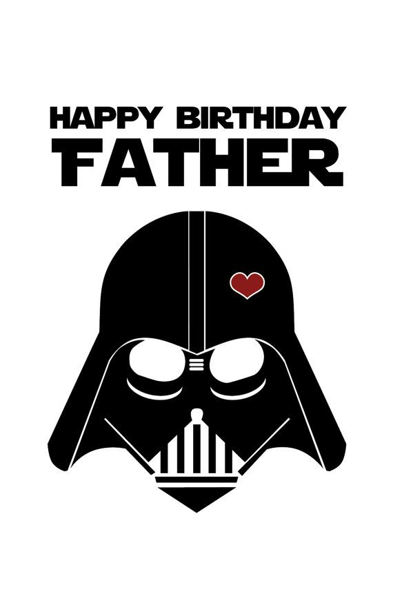 Birthday Quotes Star Wars Funny Birthday Card For Dad Diy