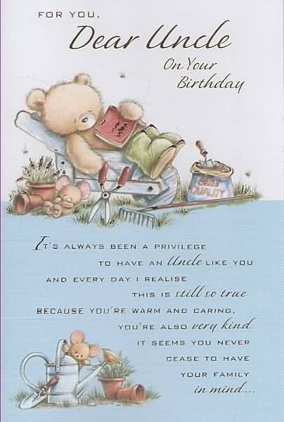 Birthday quotes wonderful greetings birthday wishes for uncleg as m4hsunfo