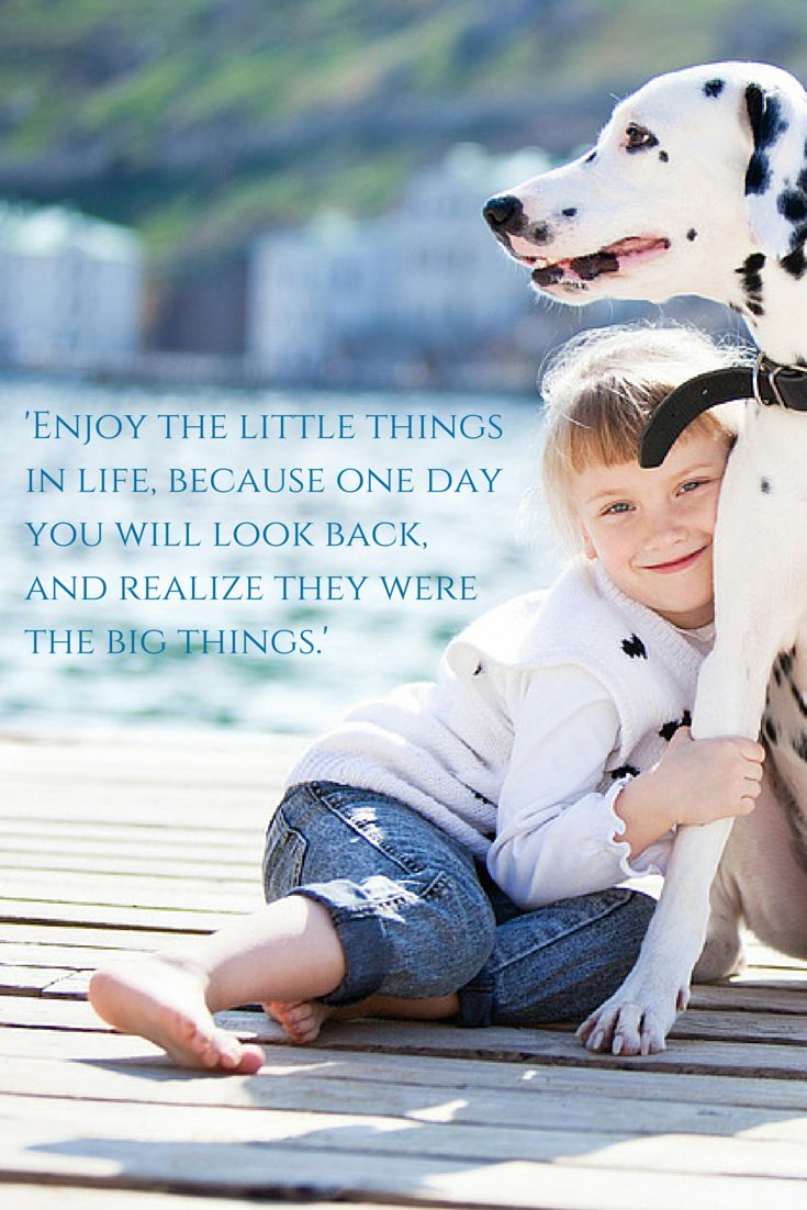 Inspirational Positive Life Quotes Enjoy The Little Things In