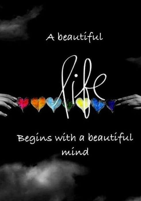 Inspirational Positive Life Quotes A Beautiful Life Begins With