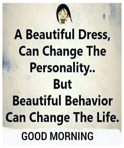 Inspirational Positive Life Quotes Beautiful Behavior Very