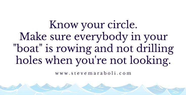 Inspirational Positive Life Quotes Know Your Circle Omg