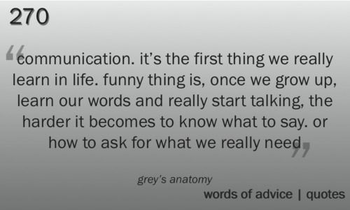 Life Quotes And Words To Live By : Meredith Grey – Grey\'s Anatomy ...