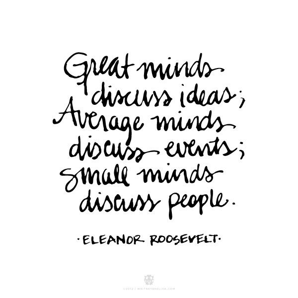 Eleanor Roosevelt Quotes Interesting Life Quotes Inspiration Great MindsEleanor Roosevelt OMG