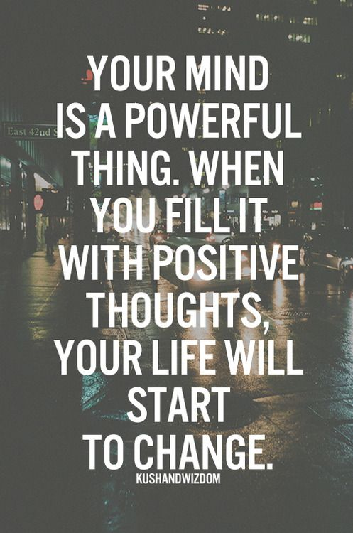 Image result for positive thought why so powerful