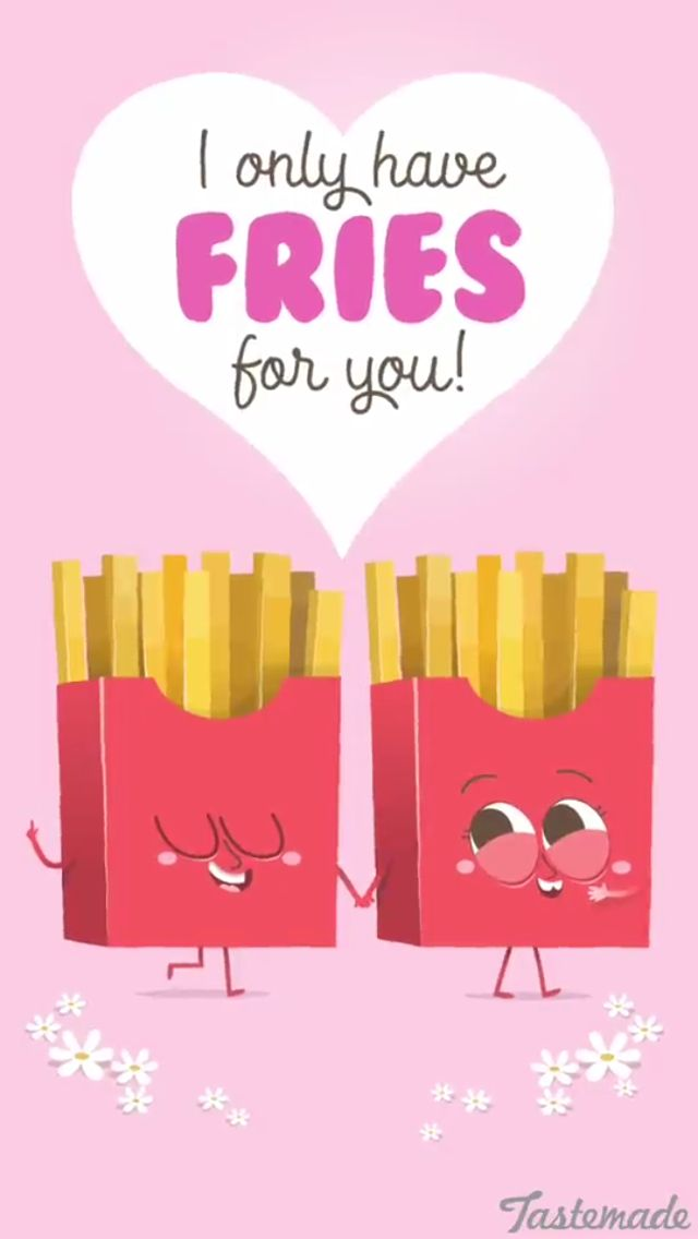 Quotes About Love For Him : Cute French fries!!! – OMG ...