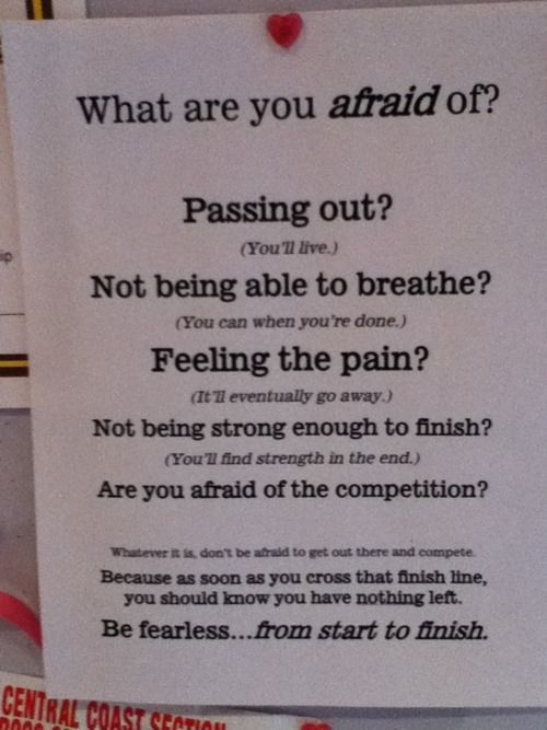Best Health And Fitness Quotes Be Fearless From Start To Finish