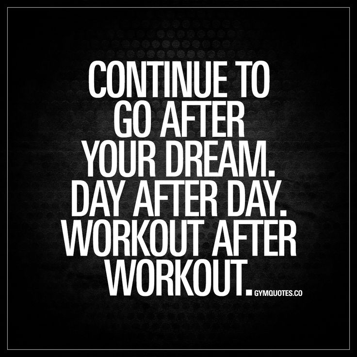 """Best Health And Fitness Quotes : """"Continue To Go After"""