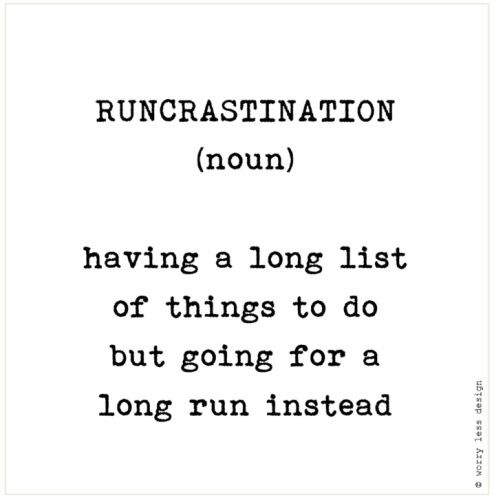 Best Health And Fitness Quotes Runcrastination Funny Running Quote