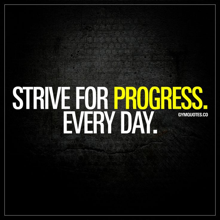 """Best Health and Fitness Quotes : """"Strive for progress ..."""